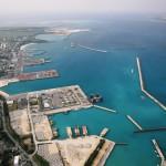 現在の平良港。災害時への対応