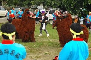 伝統芸能となった「比嘉の獅子舞」