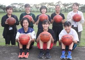 4強を目指す下地中女子バスケット部