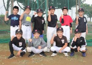 学童野球の下地低学年チーム